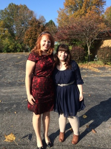 I messed up and didn't get a picture of the program, but here's Dana and I!