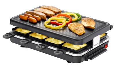 Melt the cheese in the trays and cook little sausages on top! K and I just got one of these for Xmas!