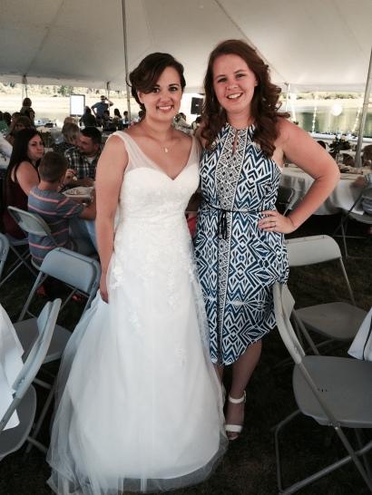 The gorgeous bride!