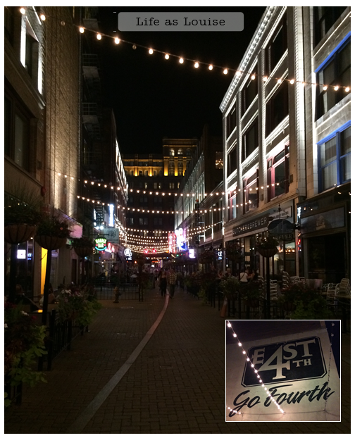 If you're ever in Cleveland for the night E 4th Street has some cool restaurants and such.