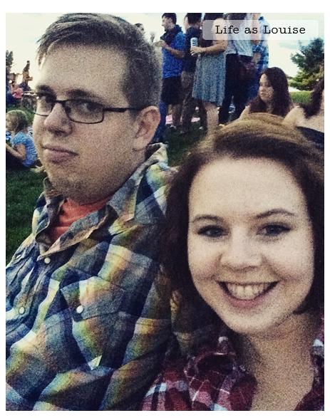 (I swear he had fun. He just hates selfies.)