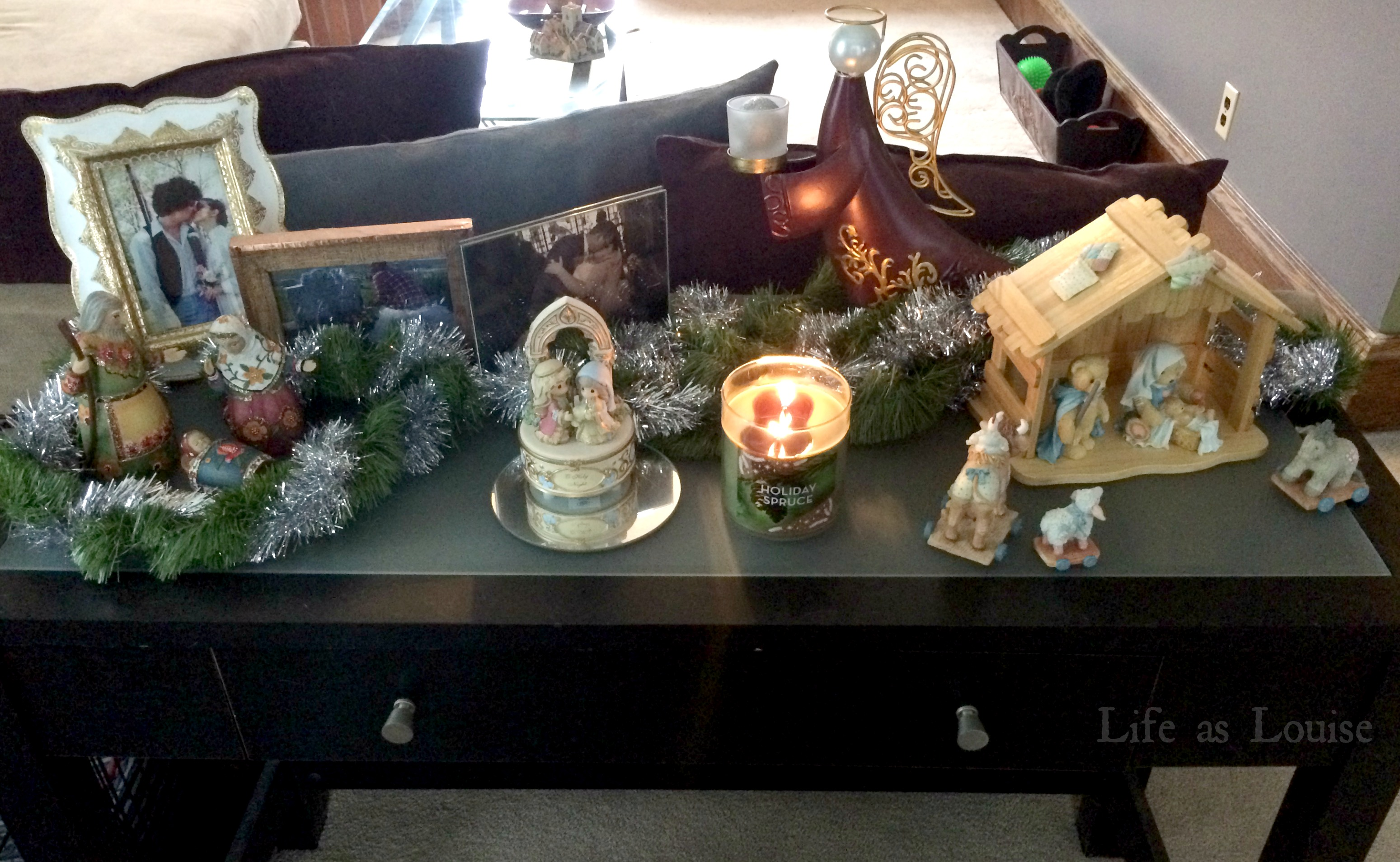 I think we have five nativity sets in our house...